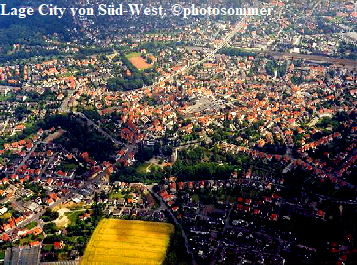 Lage City von Süd-West. ©photosommer